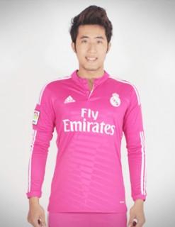 Áo đá banh Real Madrid tay dài