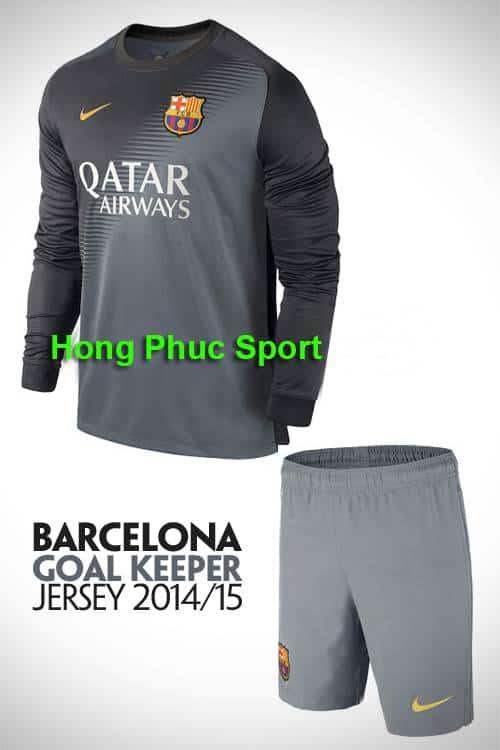 áo thủ môn Barcelona 2014 – 2015