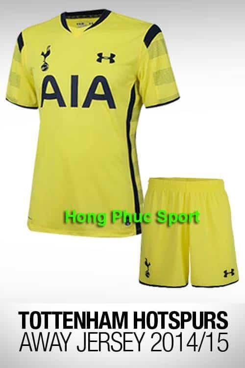 Bộ quần áo Tottenham 2014- 2015 sân khách thứ ba