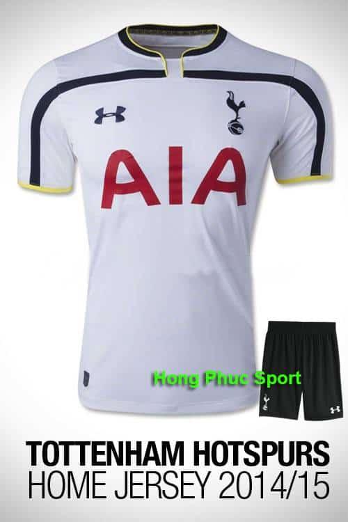 Bộ quần áo Tottenham 2014-2015 sân nhà
