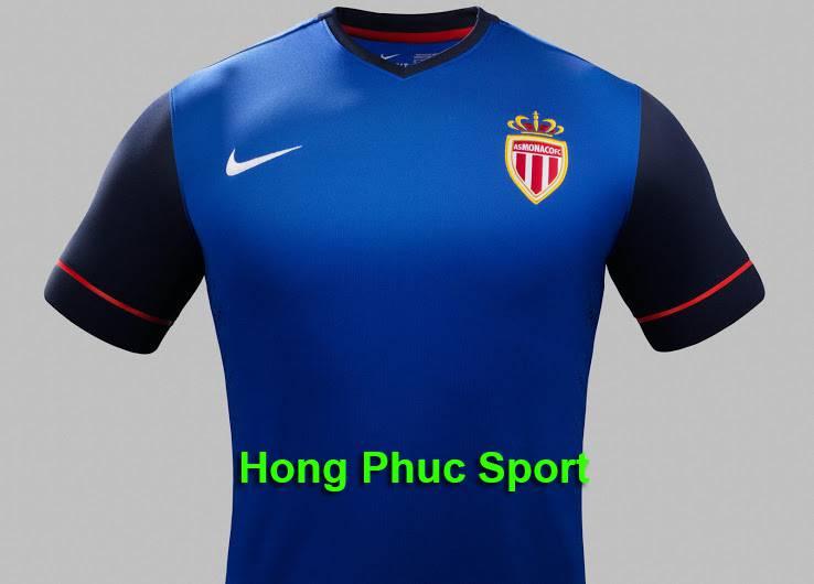 Áo As Monaco mùa giải 2014 - 2015 sân khách