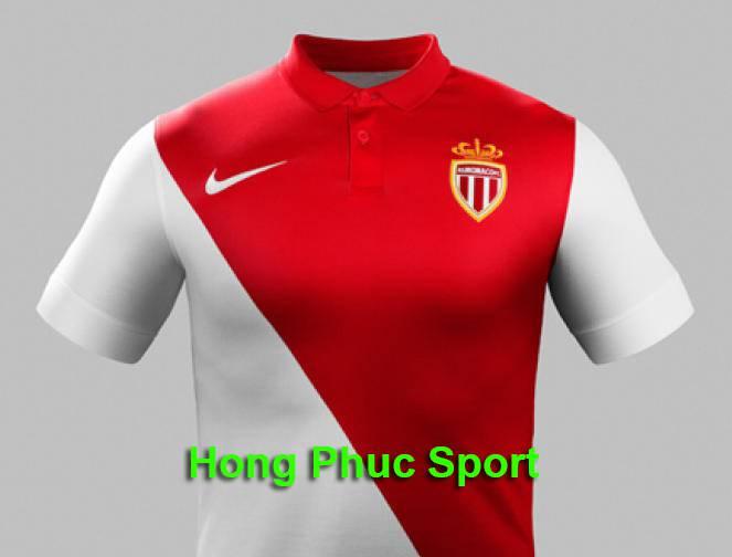 Áo As Monaco mùa giải 2014 - 2015 sân nhà