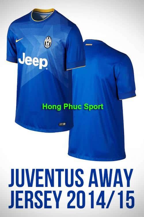 Bộ quần Áo Juventus 2014-2015 sân khách