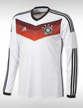 áo tuyển Đức tay dài 4 sao vô địch WC2014