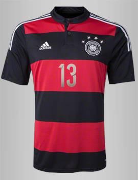 Áo tuyển Đức 4 sao vô địch WC2014 sân khách