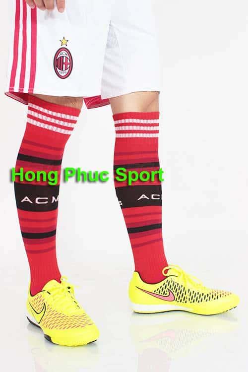 Đôi Vớ AC Milan 2014-2015 sân nhà SF