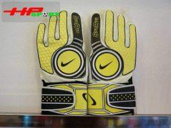 Găng tay thủ môn Nike Sports vàng mặt trước