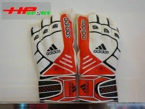 Găng tay thủ môn Adidas Pro màu đỏ mặt trước