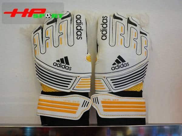 Găng tay thủ môn Adidas Total Grip màu cam mặt sau