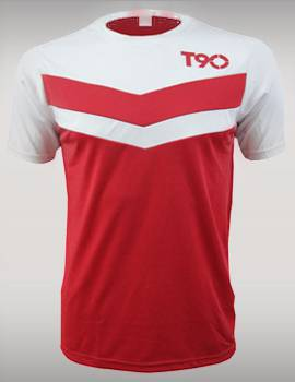 áo T90 màu đỏ 2014