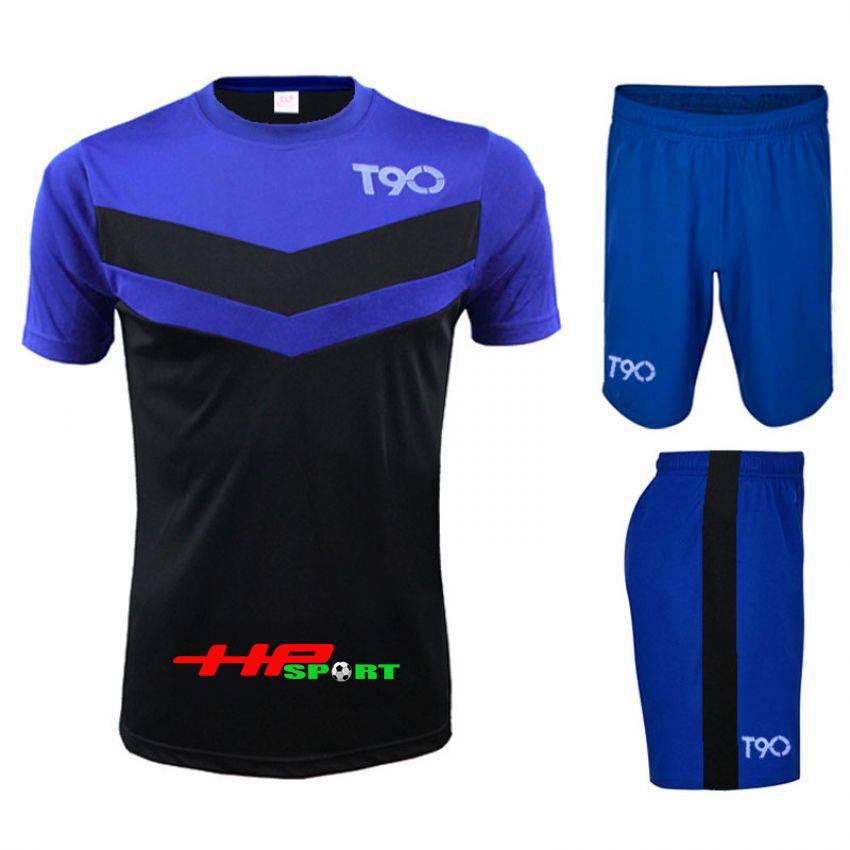 Bộ quần áo t90 xanh dương 2014