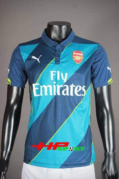 Bộ quần áo Arsenal sân khách mẫu thứ 3 mùa giải 2014/15
