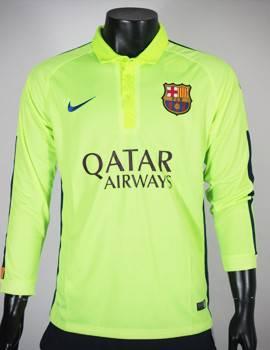 Áo Barcelona 2014-2015 mẫu thứ 3 tay dài