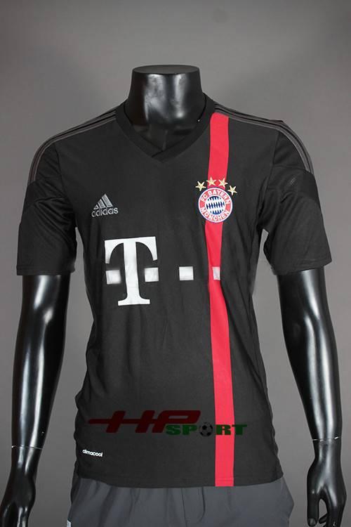 Bộ quần áo Bayern Munich màu đen 2014-2015 mẫu thứ 3