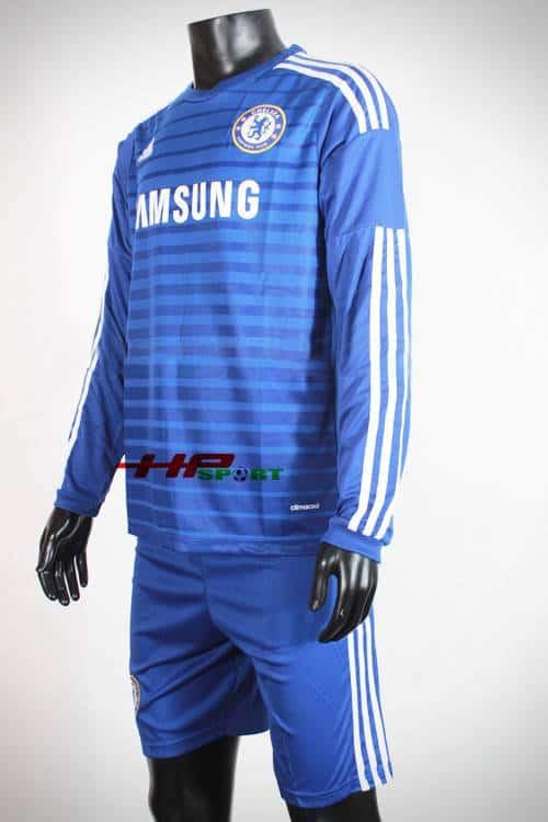 Bộ quần  áo Chelsea sân nhà 2014-2015 tay dài