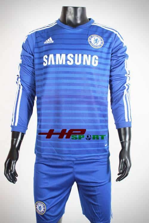 Đồ đá banh áo Chelsea sân nhà 2014-2015 tay dài