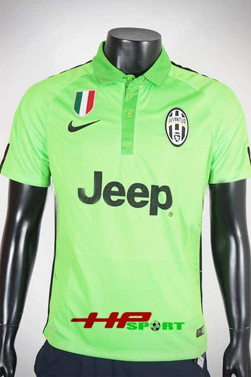 Bộ quần áo Juventus 2014-2015 mẫu thứ 3 xanh chuối