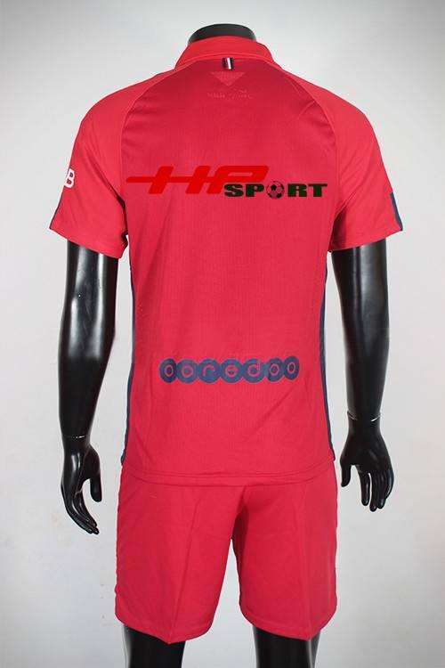 Mặt sau Bộ quần Áo PSG 2014-2015 mẫu thứ 3