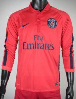 Áo PSG 2014-2015 mẫu thứ 3 tay dài