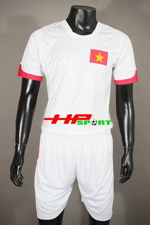Bộ quần Áo tuyển Việt Nam 2015 sân khách màu trắng