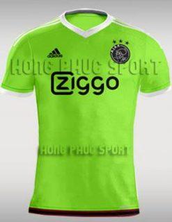 Đồ đá banh Ajax Amsterdam 2015-2016 sân khách