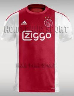 Đồ đá banh Ajax Amsterdam 2015-2016 sân nhà