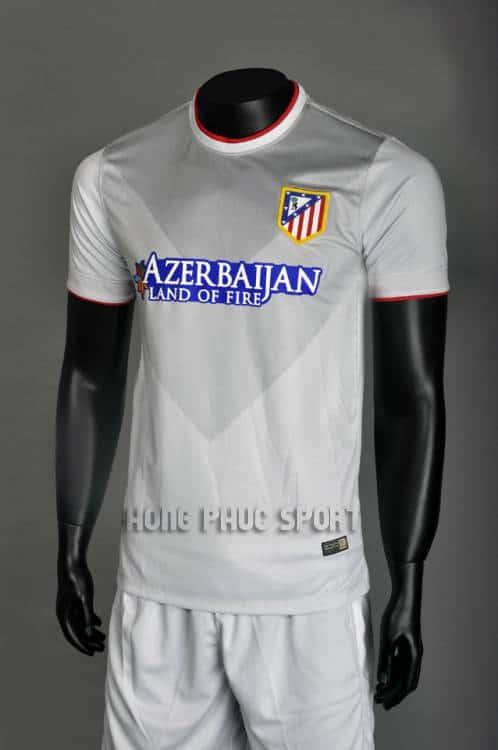 bộ quần áo Atletico Madrid 2014-2015 sân khách