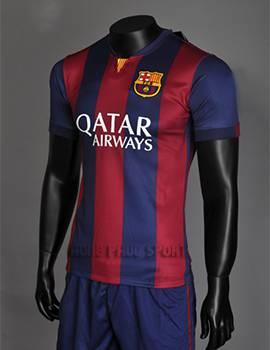 Áo bóng đá Barcelona 2015 sân nhà