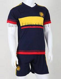Bộ quần áo Columbia 2015-2016 sân khách màu đen