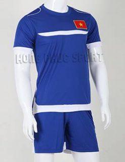 Đồ đá banh Training Việt Nam 2015-2016 màu xanh biển