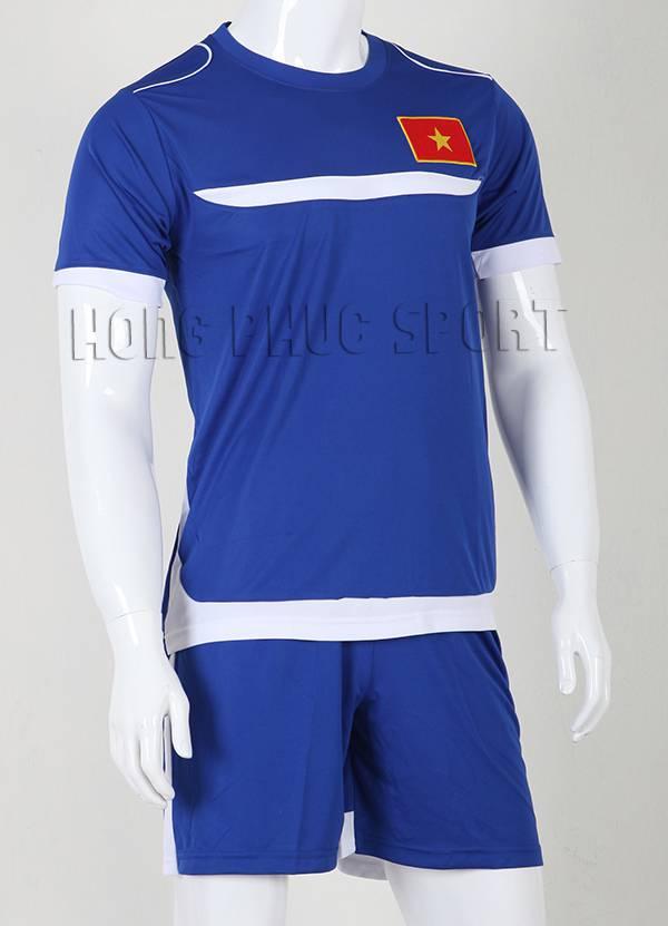 Bộ quần áo Training Việt Nam 2015-2016 màu xanh biển