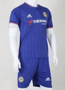 Bộ quần áo Chelsea 2015-2016 sân nhà