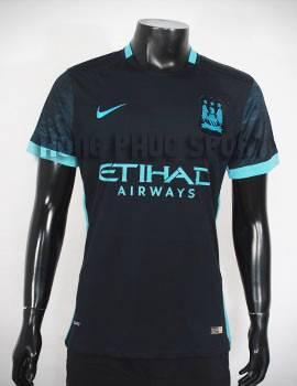 Đồ đá banh Man city 2015-2016 sân khách màu xanh tím than