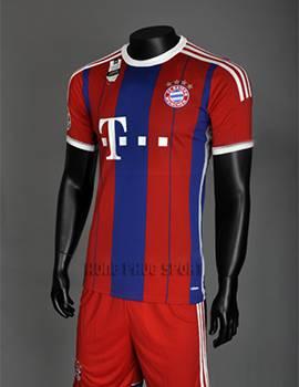 Đồ đá banh Bayern Munich 2014-2015 sân nhà