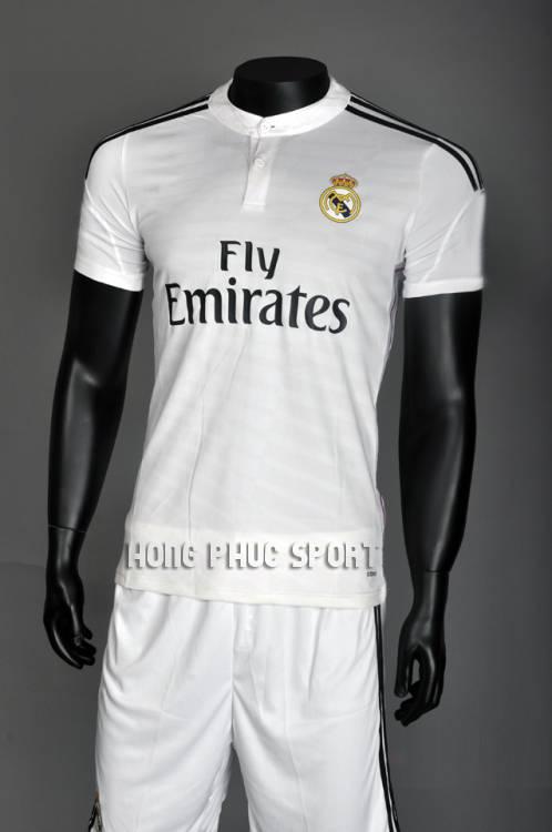 Áo Real Madrid 2014-2015 sân nhà