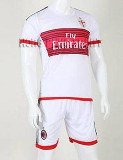 Đồ đá banh AC Milan 2015-2016 sân khách màu trắng