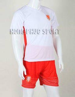 Bộ quần áo đá banh tuyển Hà Lan 2015-2016 màu trắng