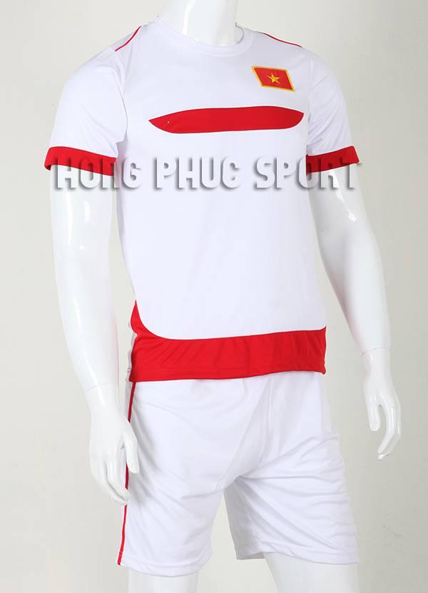 Đồ đá banh Training Việt Nam 2015-2016 màu trắng phối đỏ