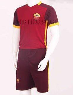 Đồ đá banh AS Roma 2015-2016 sân nhà màu bã trầu