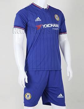 Bộ quần áo đá banh Chelsea 2015-2016 sân nhà chính hãng