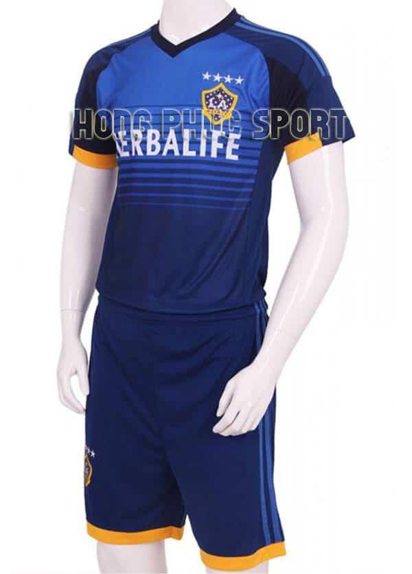 Bộ quần áo đá banh La Galaxy 2015-2016 sân khách màu xanh