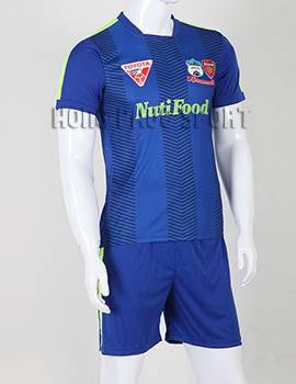 Đồ đá banh áo thi đấu HAGL 2015-2016 màu xanh