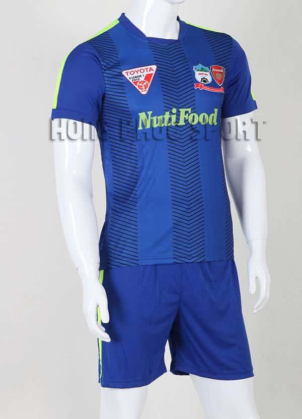 Mẫu áo thi đấu HAGL 2015-2016 màu xanh