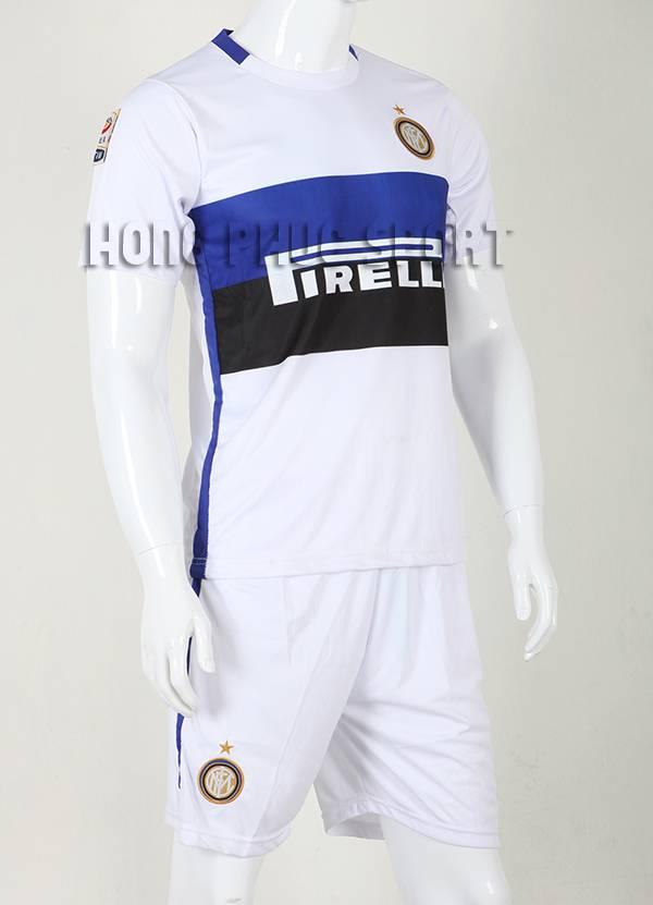 Bộ quần áo đá banh Inter Milan 2015-2016 sân khách màu trắng