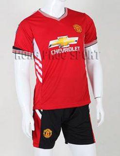 Bộ quần áo đá banh MU 2015-2016 sân nhà adidas