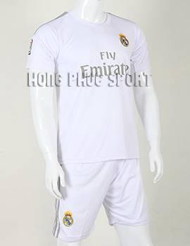 Bộ quần áo đá banh Real Madrid 2015-2016 sân nhà