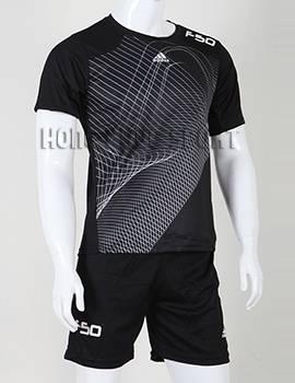 Mẫu áo training F50 không logo 2015-2016 màu đen