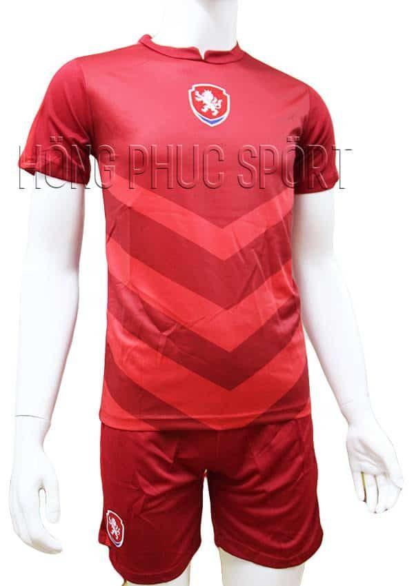 """Bộ quần áo tuyển cộng hòa Séc """"Czech"""" Euro 2016 sân"""