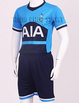 Bộ quần áo đá banh Tottenham-Hotspur 2015-2016 sân khách màu xanh