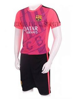 Mẫu áo tập barcelona 2015-2016 màu hồng